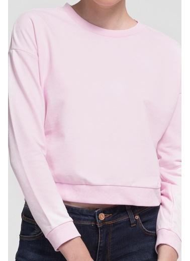 Loft Sweatshirt Pembe